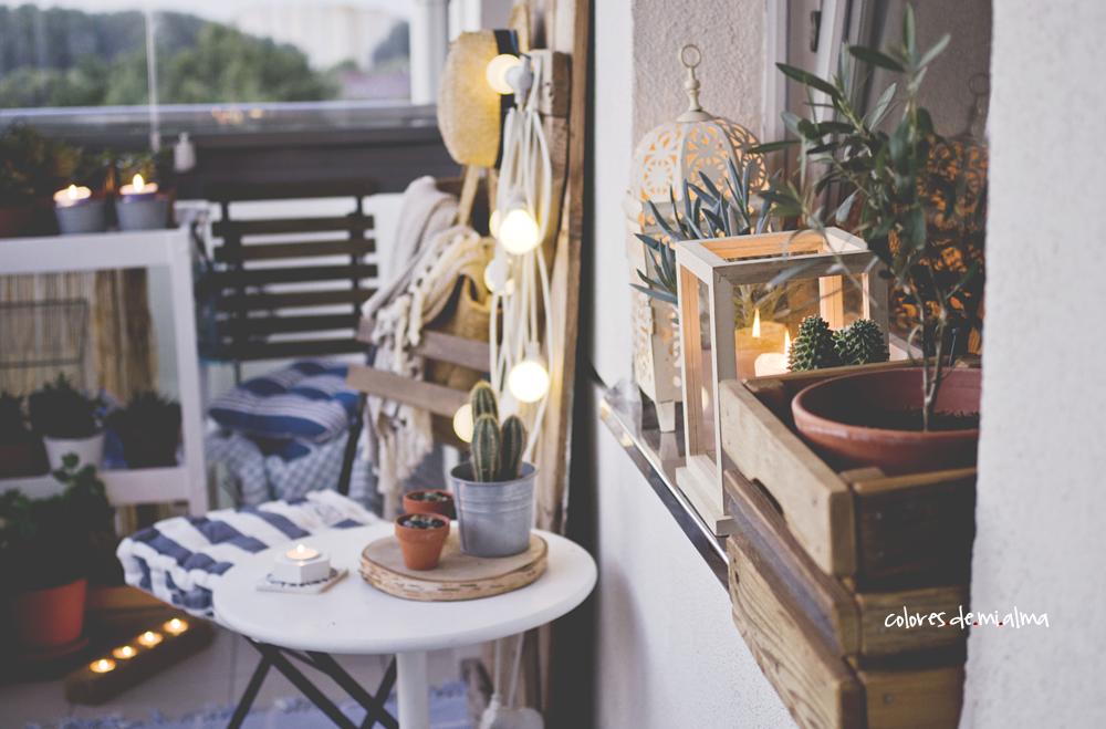 balkon, balcony, marine, rustic, old wood, succulent